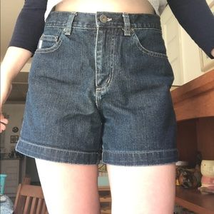 Vintage Guess High-Rise Jean Shorts Size 27